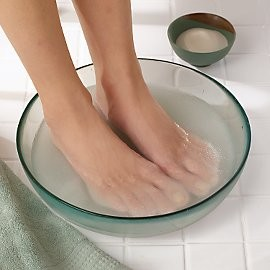 Epson Salt Soak for Excessive Feet Sweating